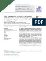 Lebl 2014_Ankle Plantarflexion Strength in Rearfoot a Novel Clusteranalytic