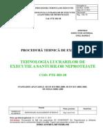 38 PTE-RD-38- Tehnologia de Executie a Santurilor Neprotejate