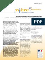 Le Paradoxe Du Syndicalisme Français