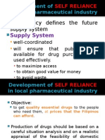 Self-reliance and Procurement