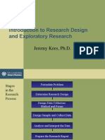 Research Design and Exploratory