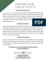 Increase Creativity - Instructions