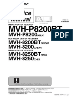Pioneer MVH-8200-BT Service Manual