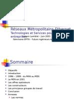 Rseaux Metropolitains Ethernet 2001 Sminaire Epita212 (1)