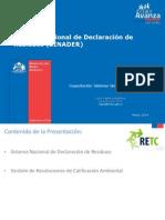 Capacitacion RETC VU SINADER Version Publicada