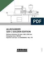 Arburg Allrounder 320c Golden Edition Td 523871 en Gb