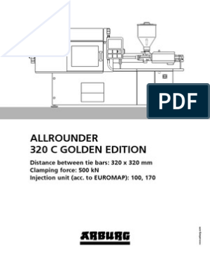 Arburg Allrounder 320c Golden Edition Td 523871 en Gb | Poly