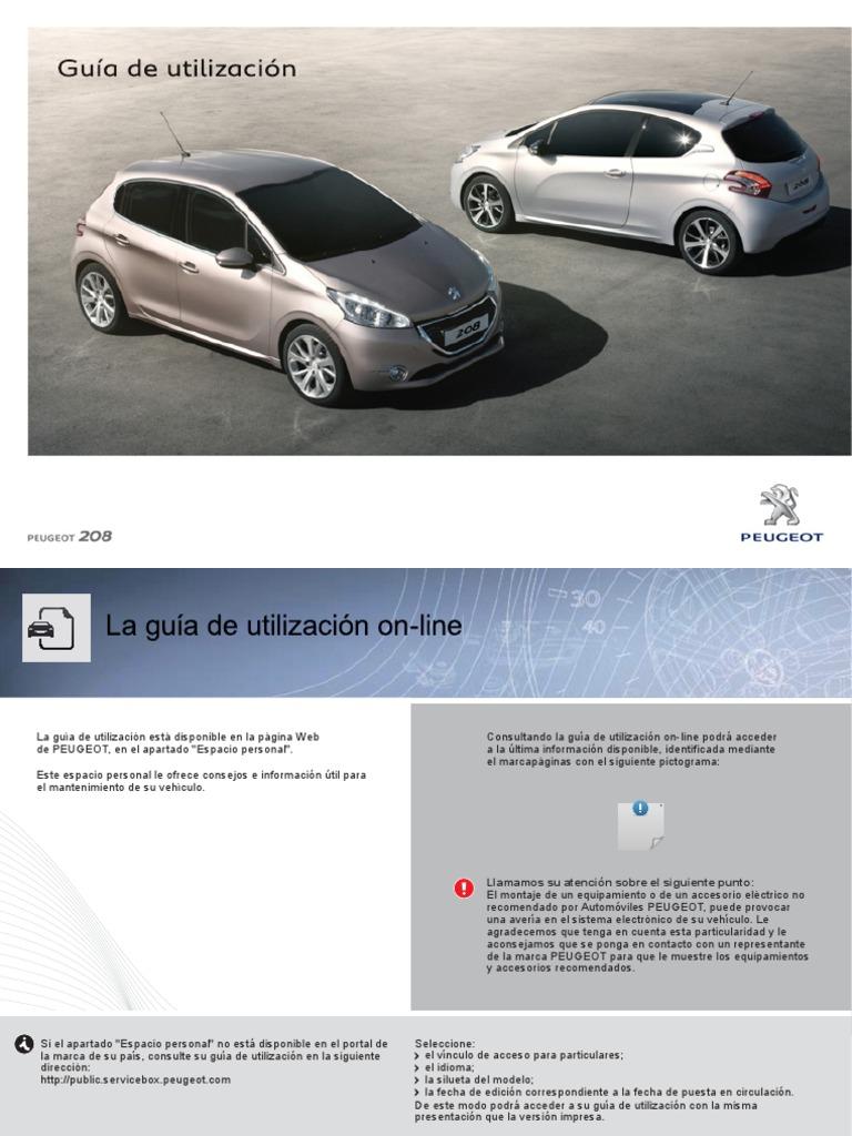 Manual Peugeot