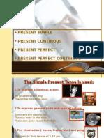 UNIT 1 Present Tenses