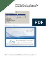 Mengakses Layanan WMS/WFS Dengan uDIG