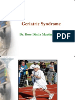 Geriatric Syndrome Workshop