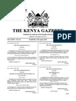 Gazette Notice Issue on Parastatal Chiefs - Gazette Vol. 43 27-4-2015 Special Issue