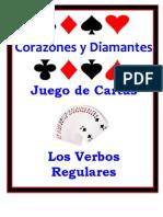 Spanish Card Game - Regular Verbs