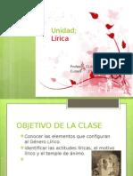 Unidad Poesia Diapositiva 2