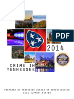 2014 Crime in TN - TBI Report