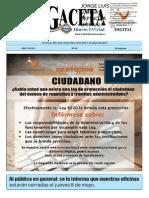 La Gaceta 2014N86