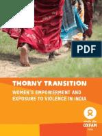 Thorny Transition