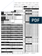 Pathfinder Character Sheet | Elf (Dungeons & Dragons) | Role Playing