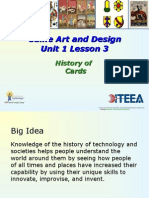 unit 1 5 history of cards