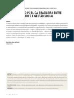 PAULA, Ana P. - Administração Pública Brasileira Entre o Gerencialismo e a Gestão Social