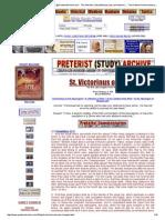 Victorinus de Petau Commentary on the Apocalypse