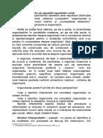 Explicitari Teoretice Ale Organizarilor Sociale