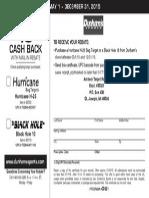 Dunham's Rebate Form