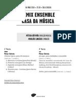 20140506 | Programa de Sala Remix Ensemble Casa da Música | PETER EÖTVÖS, O MAESTRO