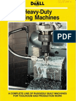 DoAll Milling Machine Brochure