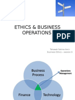 ethics n business operations#