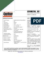 EPOTHAN - Ficha Técnica Epometal93
