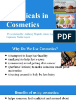 chemicals in cosmetics presentation, period 6