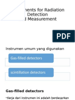 Instruments for Radiation Detection