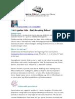 Kindergarten Kids School - Prospectus