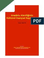 Anadolu Aleviliğinin Kültürel-İnançsal Kaynakları