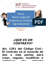Marco Legal Sector Agroindustrial