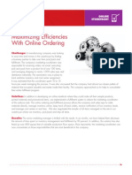 Maximizing Efficiencies With Online Ordering