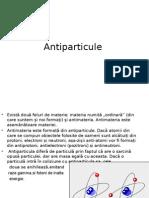 antiparticule