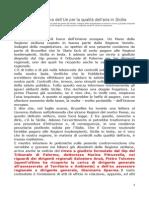 Piano Aria Regione Sicilia Copiato in Arrivo Condanna Dalla Europa