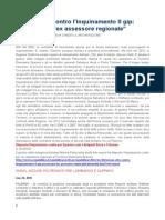 Smog e Mancati Provvedimenti Procedimento 17603 Ex 9963 2009 Anza' Tolomeo Sparma