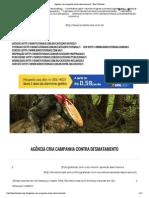 Agência cria campanha contra desmatamento - Bons Tutoriais