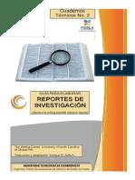 Guía para elaborar reportes de investigación