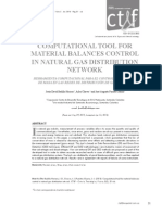 Computational tool for materials balance