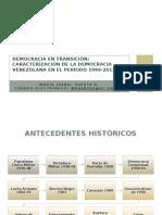 Ponencia Democracia en Transición