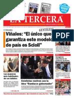 DIARIO LA TERCERA 27.04.2015