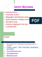 Systemic Mycoses Lect Six