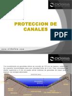 Geoceldas Proteccion de Canales Cidelsa