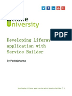 Developing Liferay Application With Service Builder