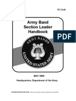 Army Section Leader's Handbook