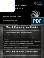Meios de Contraste e HemodinamicaALUNO